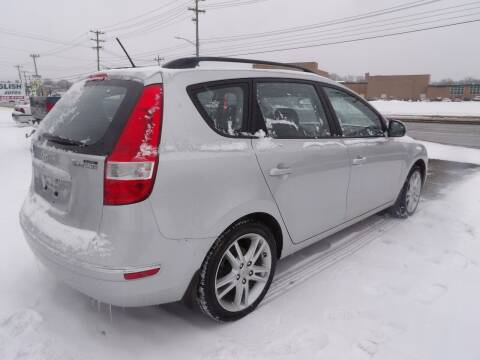 2010 Hyundai Elantra Touring for sale at English Autos in Grove City PA