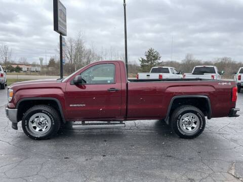 2014 GMC Sierra 1500 for sale at Hawkins Motors Sales in Hillsdale MI
