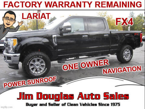 2017 Ford F-250 Super Duty for sale at Jim Douglas Auto Sales in Pontiac MI