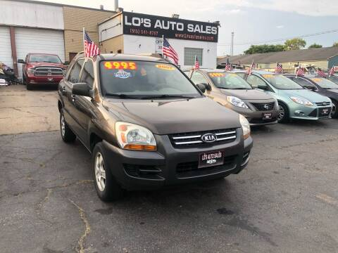 2007 Kia Sportage for sale at Lo's Auto Sales in Cincinnati OH
