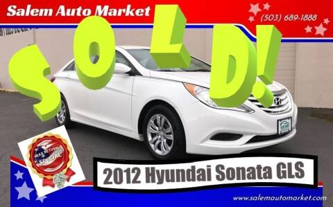 2012 Hyundai Sonata for sale at Salem Auto Market in Salem OR