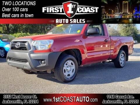 2013 Toyota Tacoma for sale at 1st Coast Auto -Cassat Avenue in Jacksonville FL