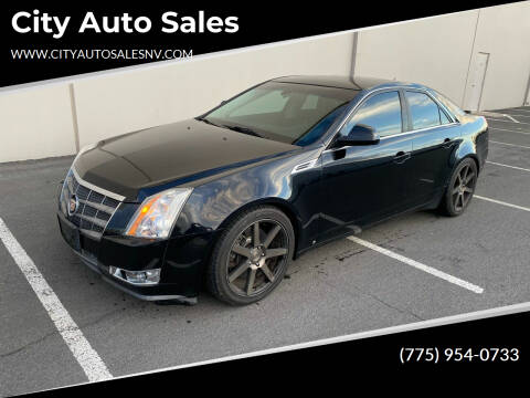 2008 Cadillac CTS for sale at City Auto Sales in Sparks NV