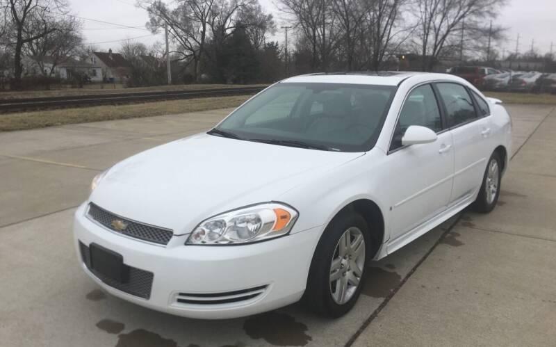 2012 Chevrolet Impala for sale at Mr. Auto in Hamilton OH