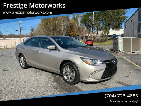 2016 Toyota Camry for sale at Prestige Motorworks in Concord NC