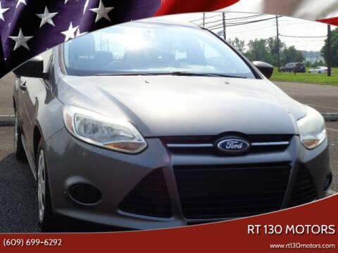 2013 Ford Focus for sale at RT 130 Motors in Burlington NJ