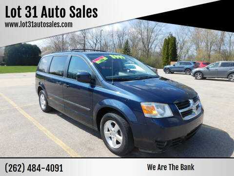 2008 Dodge Grand Caravan for sale at Lot 31 Auto Sales in Kenosha WI
