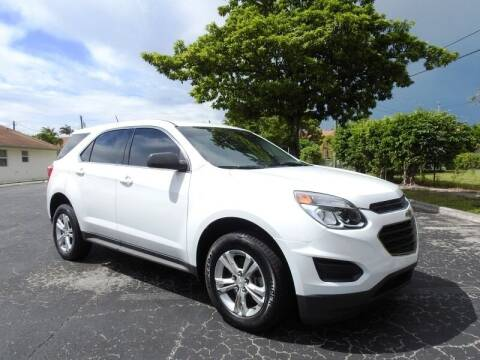 2017 Chevrolet Equinox for sale at SUPER DEAL MOTORS 441 in Hollywood FL