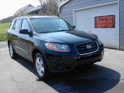 2011 Hyundai Santa Fe for sale at Marty's Auto Sales in Lenoir City TN