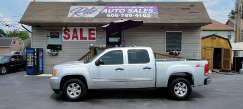 2011 GMC Sierra 1500 for sale at Ritz Auto Sales, LLC in Paintsville KY