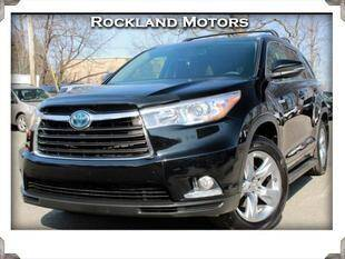 2015 Toyota Highlander Hybrid for sale at Rockland Automall - Rockland Motors in West Nyack NY