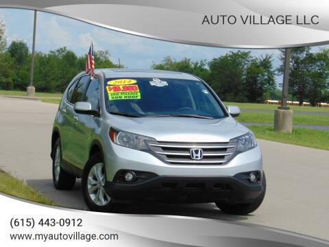 2014 Honda CR-V for sale at AUTO VILLAGE LLC in Lebanon TN