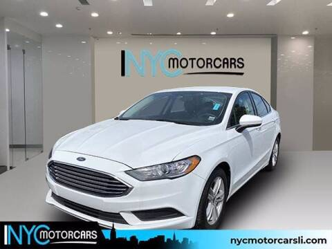 2018 Ford Fusion for sale at NYC Motorcars in Freeport NY