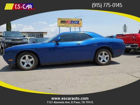 2010 Dodge Challenger for sale at Escar Auto in El Paso TX