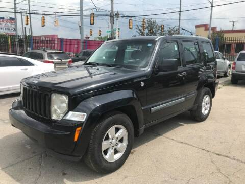2010 Jeep Liberty for sale at SKYLINE AUTO in Detroit MI