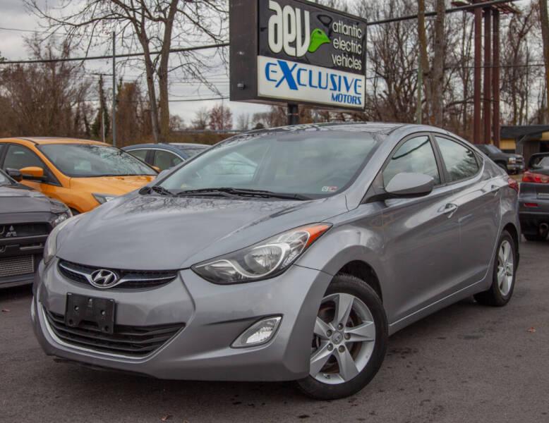 2013 Hyundai Elantra for sale at EXCLUSIVE MOTORS in Virginia Beach VA