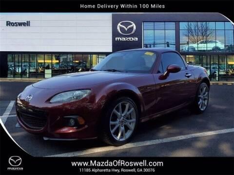 2013 Mazda MX-5 Miata for sale at Mazda Of Roswell in Roswell GA