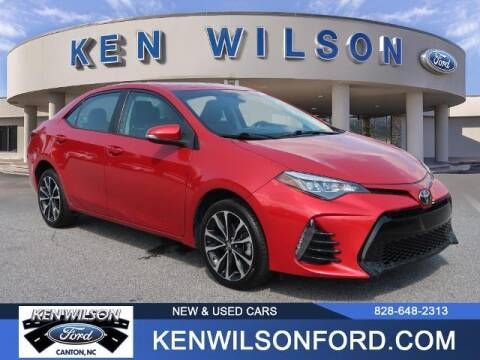 2017 Toyota Corolla for sale at Ken Wilson Ford in Canton NC