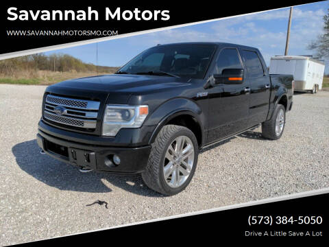 2014 Ford F-150 for sale at Savannah Motors in Elsberry MO