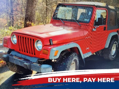 1998 Jeep Wrangler for sale at E.L. Davis Enterprises LLC in Youngstown OH