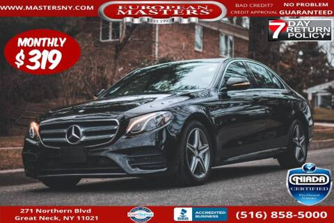 2017 Mercedes-Benz E-Class for sale at European Masters in Great Neck NY