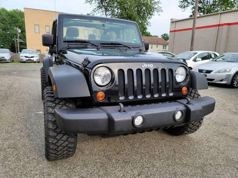 2012 Jeep Wrangler for sale at Kingz Auto Sales in Avenel NJ