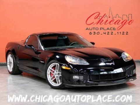 2007 Chevrolet Corvette for sale at Chicago Auto Place in Bensenville IL