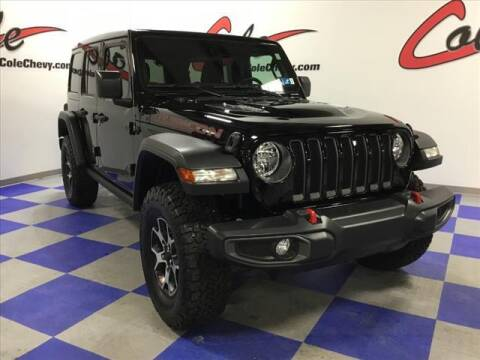 2021 Jeep Wrangler Unlimited for sale at Cole Chevy Pre-Owned in Bluefield WV