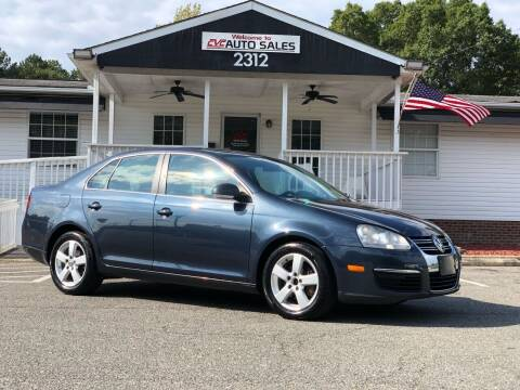 2009 Volkswagen Jetta for sale at CVC AUTO SALES in Durham NC