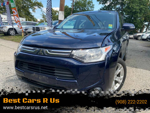 2014 Mitsubishi Outlander for sale at Best Cars R Us in Plainfield NJ