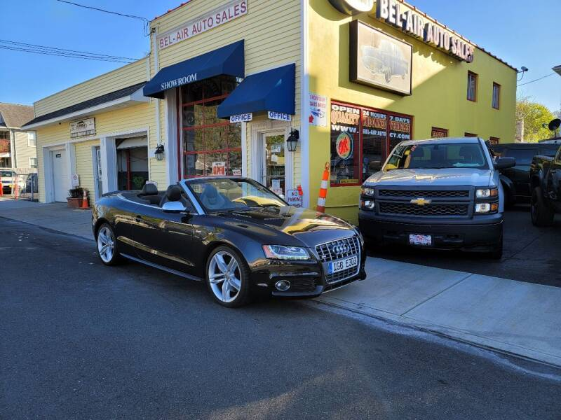 2010 Audi S5 for sale at Bel Air Auto Sales in Milford CT