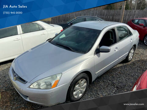 2004 Honda Accord for sale at JIA Auto Sales in Port Monmouth NJ
