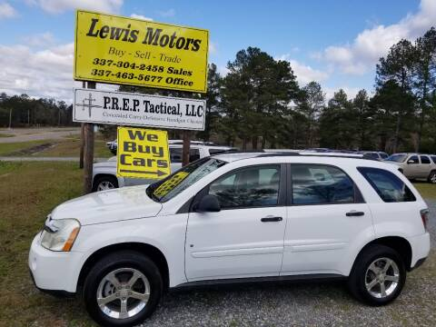2007 Chevrolet Equinox for sale at Lewis Motors LLC in Deridder LA