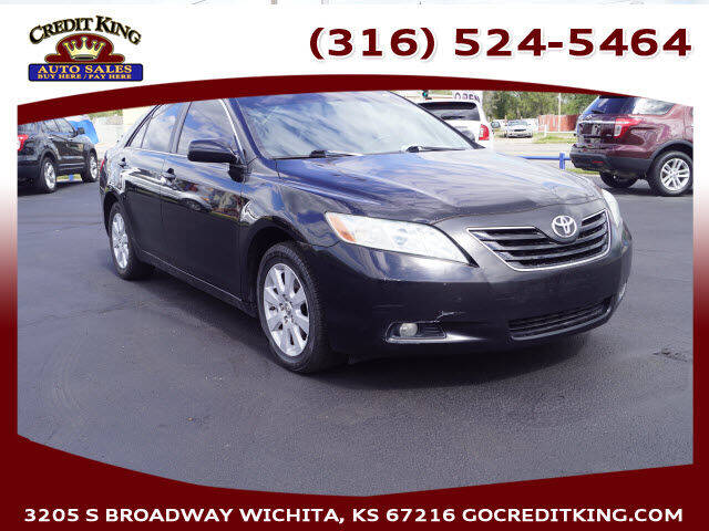 2009 Toyota Camry for sale at Credit King Auto Sales in Wichita KS