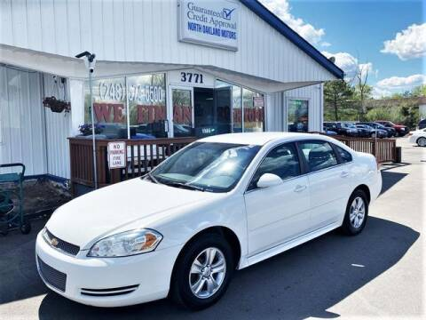 2014 Chevrolet Impala Limited for sale at North Oakland Motors in Waterford MI