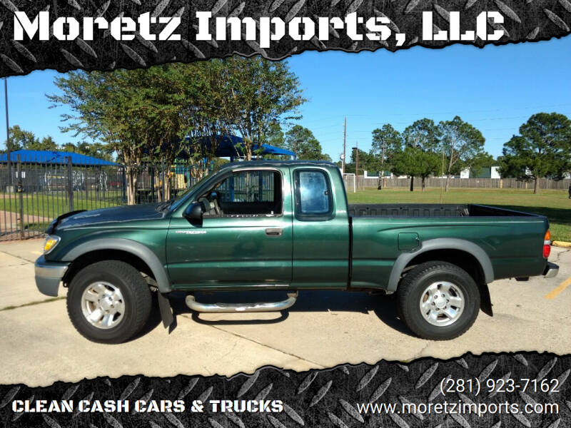 2002 Toyota Tacoma for sale at Moretz Imports, LLC in Spring TX