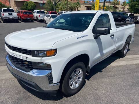 2020 Chevrolet Silverado 1500 for sale at Boulevard Motors in Saint George UT