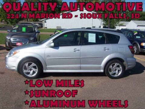 2008 Pontiac Vibe for sale at Quality Automotive in Sioux Falls SD