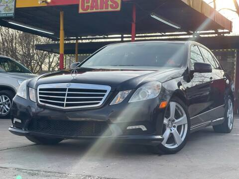 2011 Mercedes-Benz E-Class for sale at Cash Car Outlet in Mckinney TX