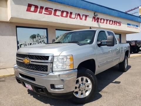2014 Chevrolet Silverado 2500HD for sale at Discount Motors in Pueblo CO