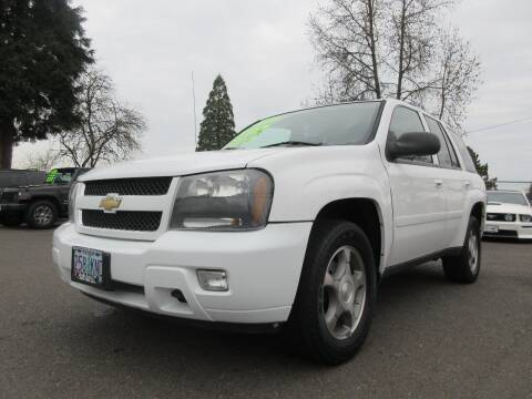 2008 Chevrolet TrailBlazer for sale at Pacific Auto LLC in Woodburn OR