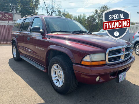 2001 Dodge Durango for sale at City Center Cars and Trucks in Roseburg OR