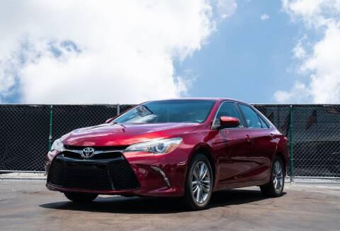 2016 Toyota Camry for sale at MATRIX AUTO SALES INC in Miami FL
