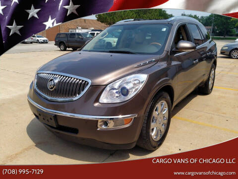 2012 Buick Enclave for sale at Cargo Vans of Chicago LLC in Mokena IL