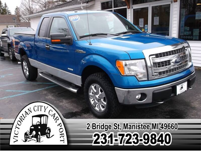 2014 Ford F-150 for sale at Victorian City Car Port INC in Manistee MI