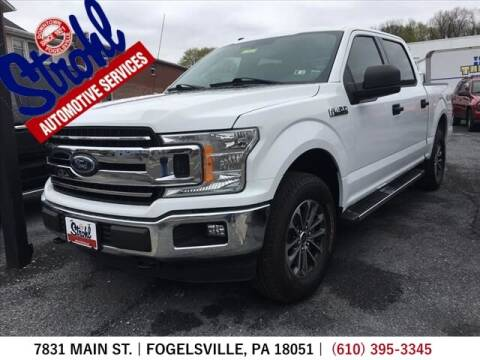 2018 Ford F-150 for sale at Strohl Automotive Services in Fogelsville PA