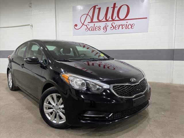 2015 Kia Forte for sale at Auto Sales & Service Wholesale in Indianapolis IN