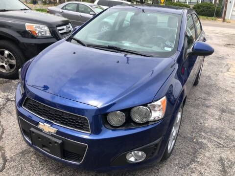 2014 Chevrolet Sonic for sale at Best Deal Motors in Saint Charles MO