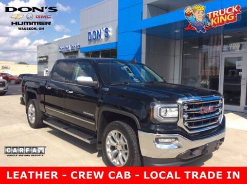 2017 GMC Sierra 1500 for sale at DON'S CHEVY, BUICK-GMC & CADILLAC in Wauseon OH