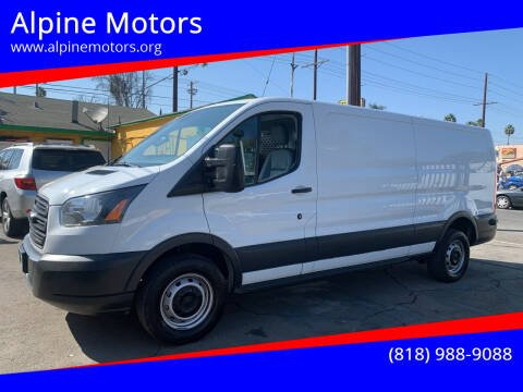 2016 Ford Transit Cargo for sale at Alpine Motors in Van Nuys CA